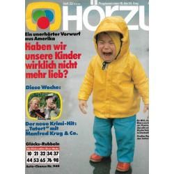 HÖRZU 33 / 18 bis 24 August 1984 - Kinderfeindlichkeit