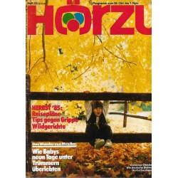 HÖRZU 43 / 26 Okt. bis 1 Nov. 1985 - Herbst