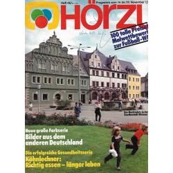 HÖRZU 46 / 14 bis 20 November 1981 - Goethestadt Weimar