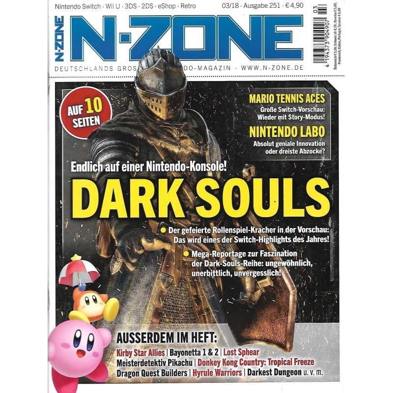 N-Zone 03/2018 - Ausgabe 251 - Dark Souls