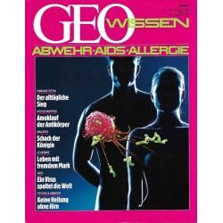 Geo Wissen Nr. 1/1988 - Abwehr - Aids - Allergie