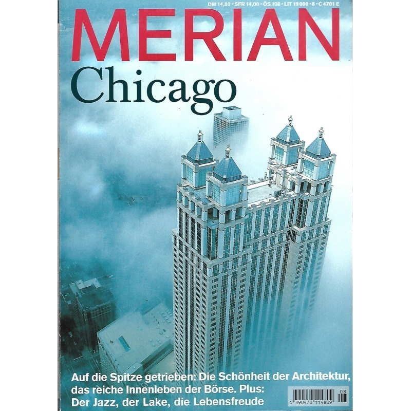 MERIAN Chicago 08/52 August 1999