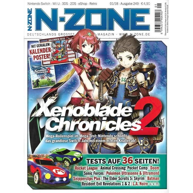 N-Zone 01/2018 - Ausgabe 249 - Xenoblade Chronicles 2