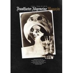 Frankfurter Allgemeine Magazin Heft 188 / Okt. 1983 - Futurismus