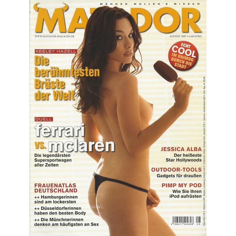 Matador August 2007 - Megan