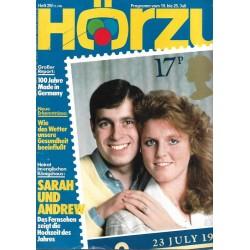 HÖRZU 29 / 19 bis 25 Juli 1986 - Sarah und Andrew