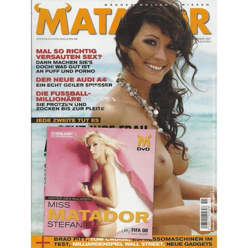 Matador November 2007 - Inses am Strand