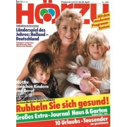 HÖRZU 16 / 22 bis 28 April 1989 - Mütter zwischen Kinder & Beruf