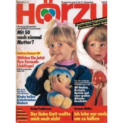 HÖRZU 49 / 5 bis 11 Dezember 1987 - Festliche Zeit