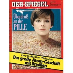 Der Spiegel Nr.6 / 31 Januar 1977 - Überdruß an der Pille