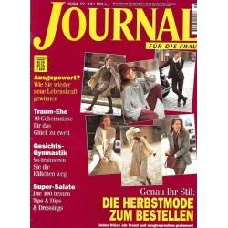 Journal Nr.16 / 27 Juli 1994 - Genau ihr Stil