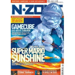 N-Zone 08/2002 - Ausgabe 63 - Super Mario Sunshine