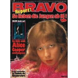 BRAVO Nr.24 / 7 Juni 1973 - Steve Priest
