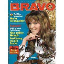 BRAVO Nr.24 / 7 Juni 1971 - Manuela