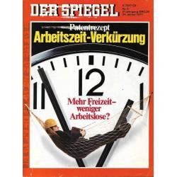 Der Spiegel Nr.5 / 24 Januar 1977 - Arbeitszeit Verkürzung