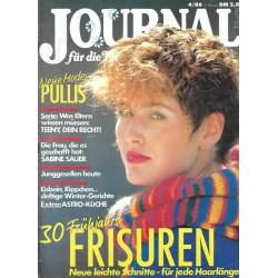 Journal Nr.4 / 5 Februar 1986 - 30 Frühjahrs Frisuren