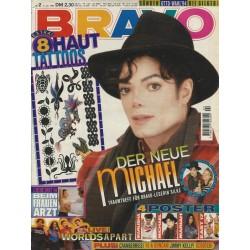 BRAVO Nr.2 / 5 Januar 1995 - Der neue Michael Jackson