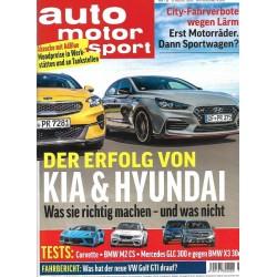 auto motor & sport Heft 18 / 13 August 2020 - Kia & Hyundai