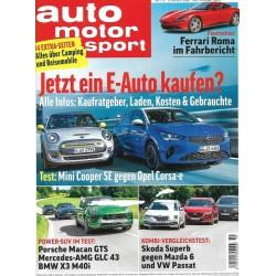 auto motor & sport Heft 19 / 27 August 2020 - E-Auto kaufen?