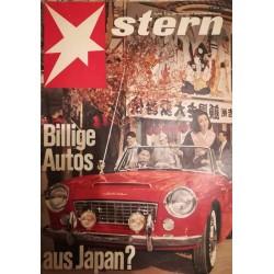 stern Heft Nr.2 / 13 Januar 1963 - Billige Autos aus Japan?