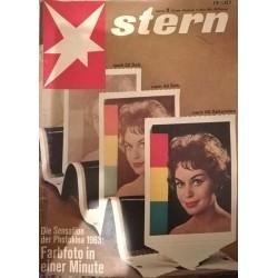 stern Heft Nr.11 / 17 März 1963 - Farbfoto in einer Minute
