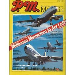 P.M. Ausgabe August 8/1990 - Millionen Menschen in der Luft
