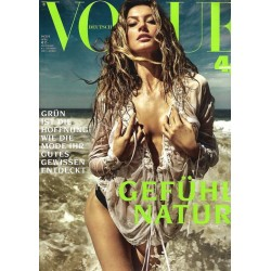 Vogue 4/April 2019- Gisele Bündchen Natur