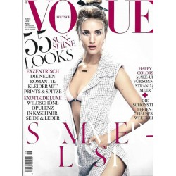 Vogue 6/Juni 2014 - Rosie Huntington-Whiteley Sommerlust