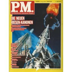 P.M. Ausgabe September 9/1990 - Die neuen Riesen-Kanonen