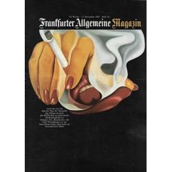 Frankfurter Allgemeine Magazin Heft 141 / Nov. 1982 - Die Raucherin