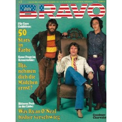 BRAVO Nr.1 / 1 Januar 1972 - Creedence Clearwater