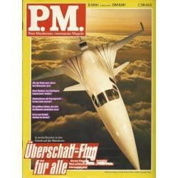 P.M. Ausgabe November 11/1990 - Überschall-Flug für alle