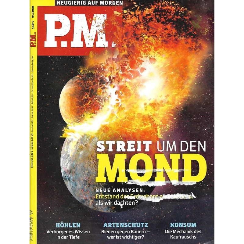 P.M. Ausgabe April 4/2019 - Streit um den Mond