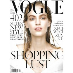 Vogue 9/September 2014 - Vanessa Axente Shopping Lust