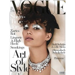 Vogue 1/Januar 2017 - Cameron Russell Art of Style