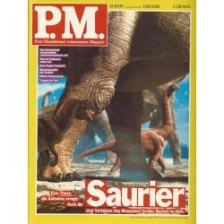 P.M. Ausgabe Dezember 12/1990 - Saurier