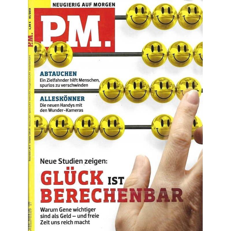 P.M. Ausgabe Januar 1/2019 - Grlück ist Berechenbar