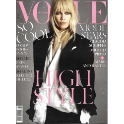 Vogue 4/April 2014 - Claudia Schiffer High Style