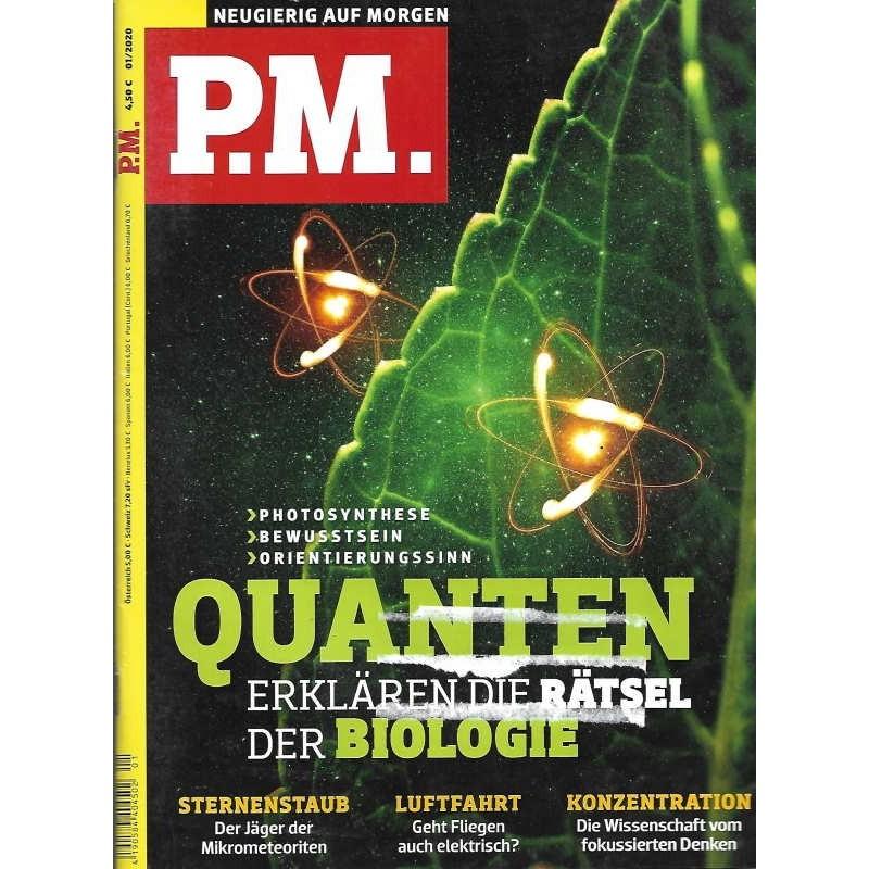 P.M. Ausgabe Januar 1/2020 - Quanten