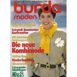 burda Moden 1/Januar 1985 - Die neue Kombimode