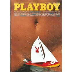 Playboy Nr.4 / April 1977 - Playmate Kathrin Dome
