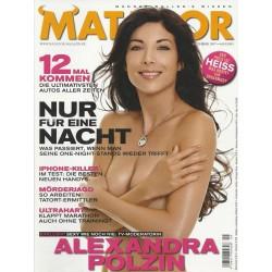 Matador September 2007 - Alexandra Polzin