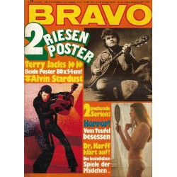 BRAVO Nr.24 / 6 Juni 1974 - Alvin Stardust & Terry Jacks