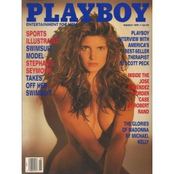 Playboy USA Nr.3 / März 1991 - Stephanie Seymour