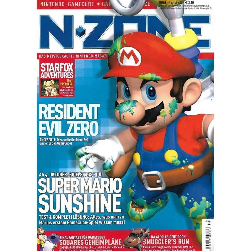 N-Zone 10/2002 - Ausgabe 65 - Super Marion Sunshine