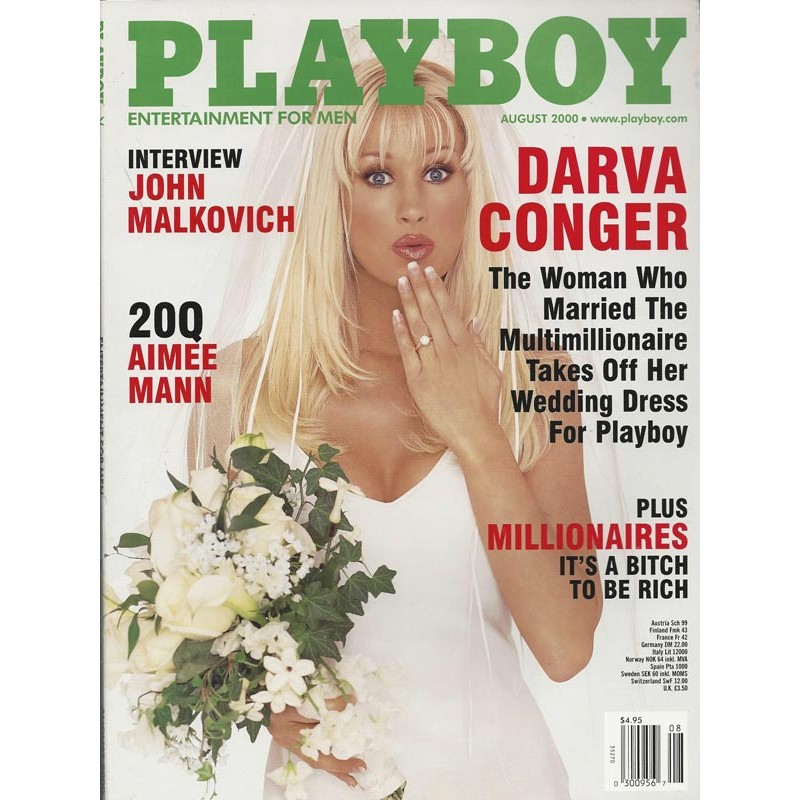 Playboy USA Nr.8 / August 2000 - Darva Conger