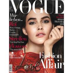 Vogue 1/Januar 2016 - Vanessa Moody Fashion Affair