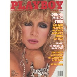 Playboy USA Nr.11 / November 1989 - Donna Mills