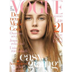 Vogue 6/Juni 2016 - Rianne van Rompaey Easy going