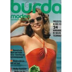 burda Moden 7/Juli 1974 - Freizeitspass in den Ferien
